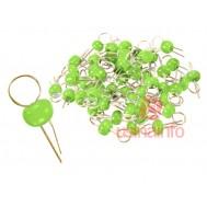 Pino de Teste para PCI - Kit com 50 Unidades - Verde
