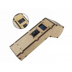 Termômetro Infravermelho Arduino Oled com Mira Laser Completo MDF - TI100