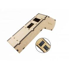 Case em MDF para Termômetro Infravermelho Arduino TI100