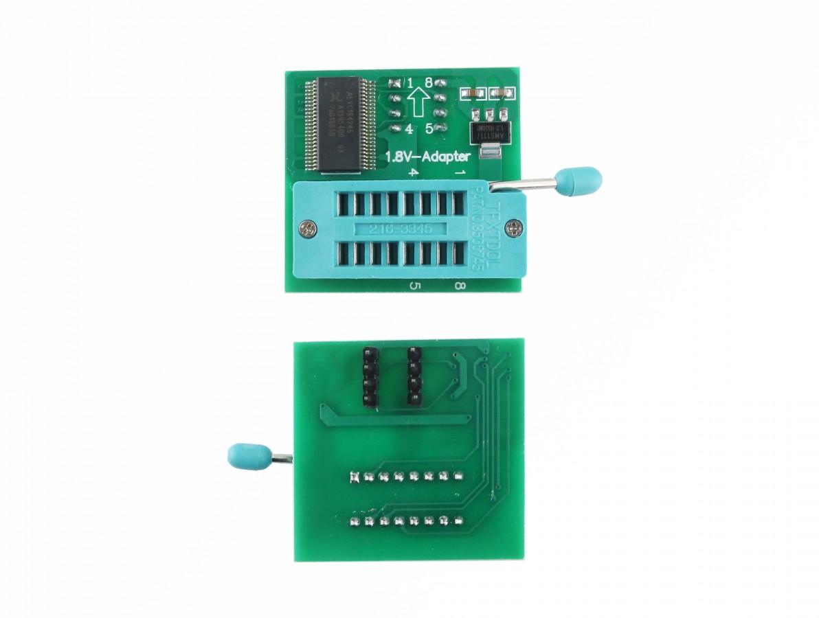 Adaptador 1.8V SPI Flash para Gravador de Bios Eeprom