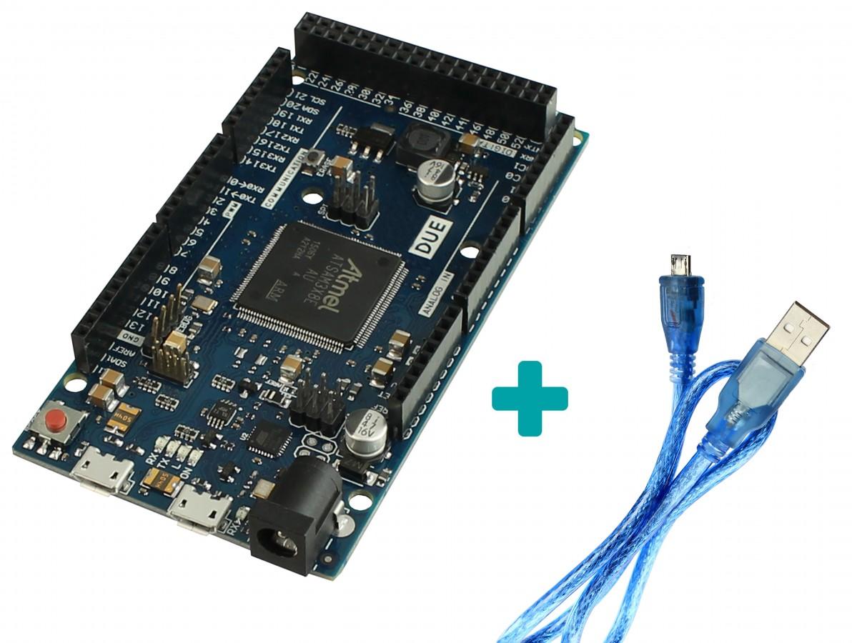 Comunicação Arduino Due + Cabo USB