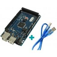 Placa Mega ADK 2560 + Cabo USB para Arduino