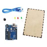Kit para Arduino Básico + Estojo MDF - KB05