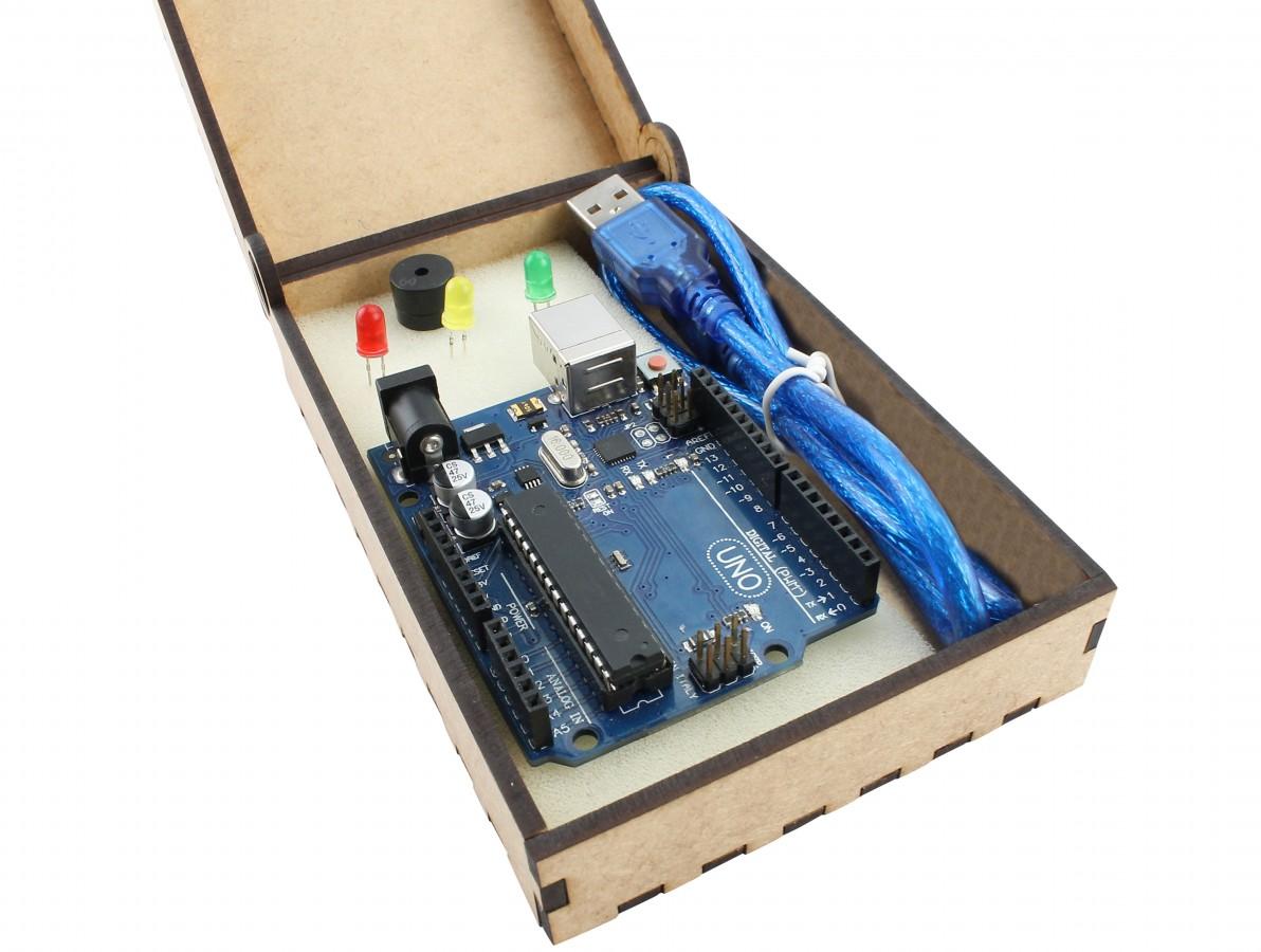 Kit Arduino Básico + Estojo para Presente - KB05