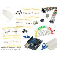 Kit para Arduino Iniciante Parland US10 + Guia de Projetos