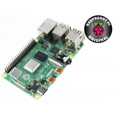 Raspberry Pi 4 Modelo B 1GB RAM Original com Wifi, Bluetooth 5.0, USB 3.0 e HDMI 4K