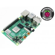 Raspberry Pi 4 Modelo B 4GB RAM Original com Wifi, Bluetooth 5.0, USB 3.0 e HDMI 4K