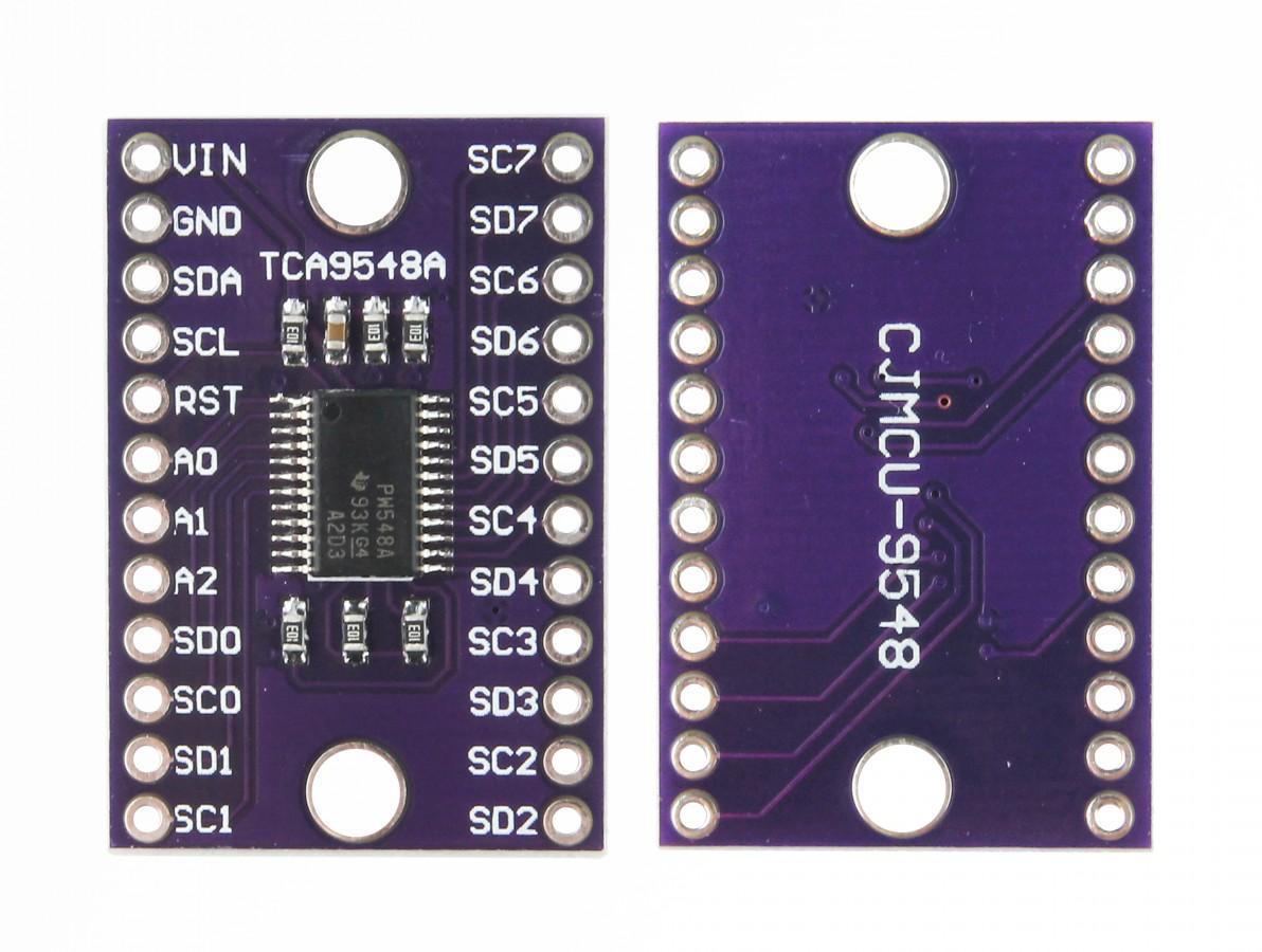 Multiplexador T29548A I2C 1 a 8 Canais