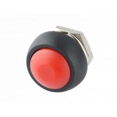 Pulsador Push Button NA / Chave Botão PBS-33B 3A Vermelho