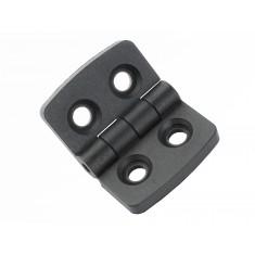 Dobradiça de Nylon 30x39mm para Projetos