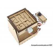 Case em MDF para Jogo do Labirinto Ludio + Manual de Montagem