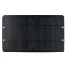 Mini Painel Solar Fotovoltaico 5V 1000mA com Saída USB - 145x248mm