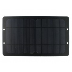 Mini Painel Solar Fotovoltaico 5V 900mA USB com Regulador - 145x248mm