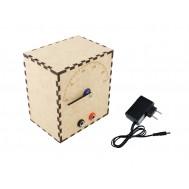 Voltímetro Analógico DIY com Arduino VA100 Completo