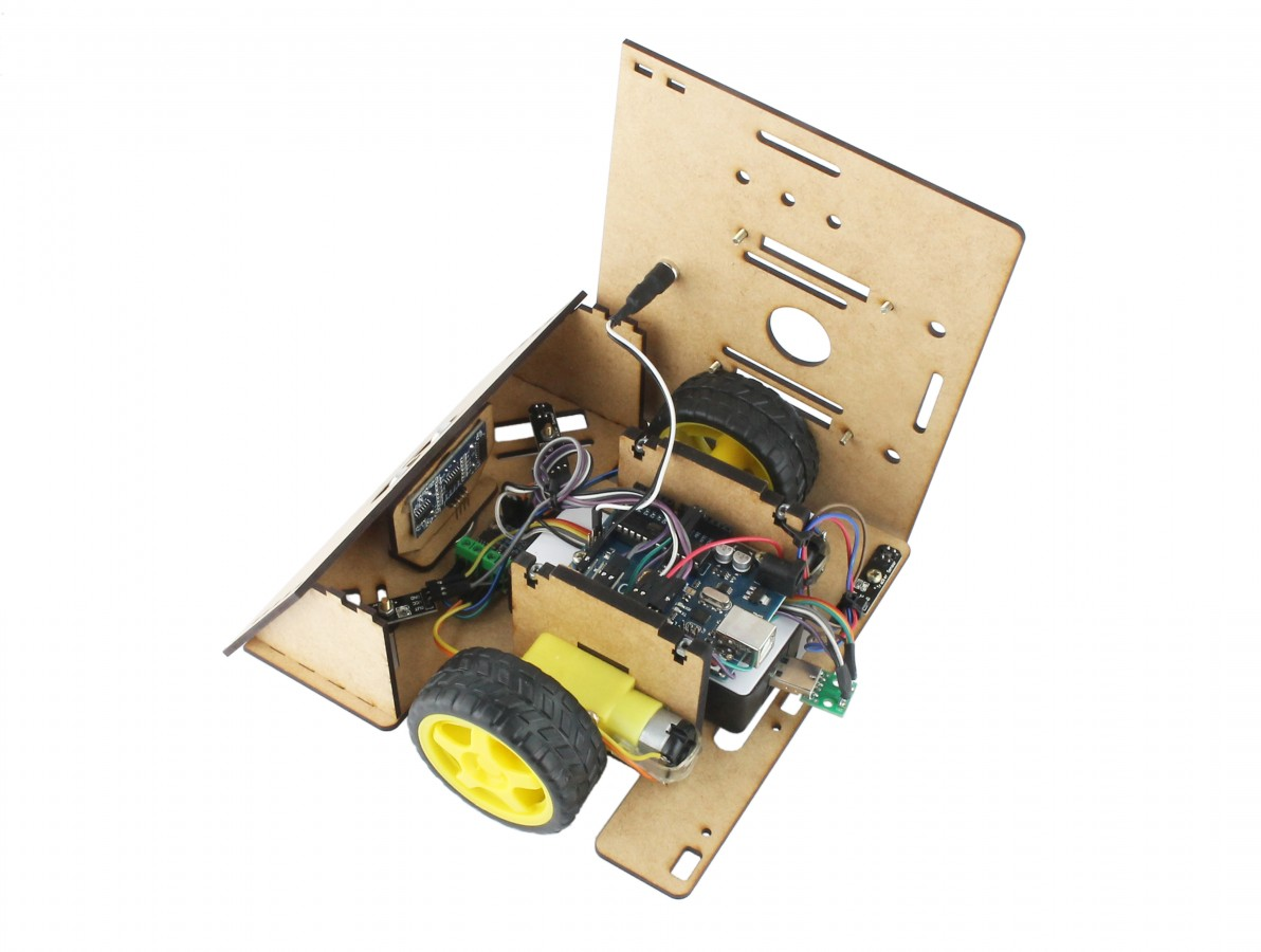 Robô Sumo Zumo Robot Arduino Completo RS100