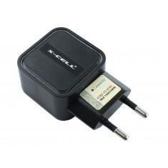 Fonte Chaveada 5V 3.4A USB Dupla para Arduino, ESP32 e Celular - Preta