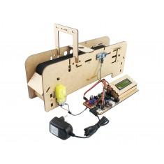 Esteira Arduino em MDF Completa para Projetos EA100 V2 + Manual de Montagem