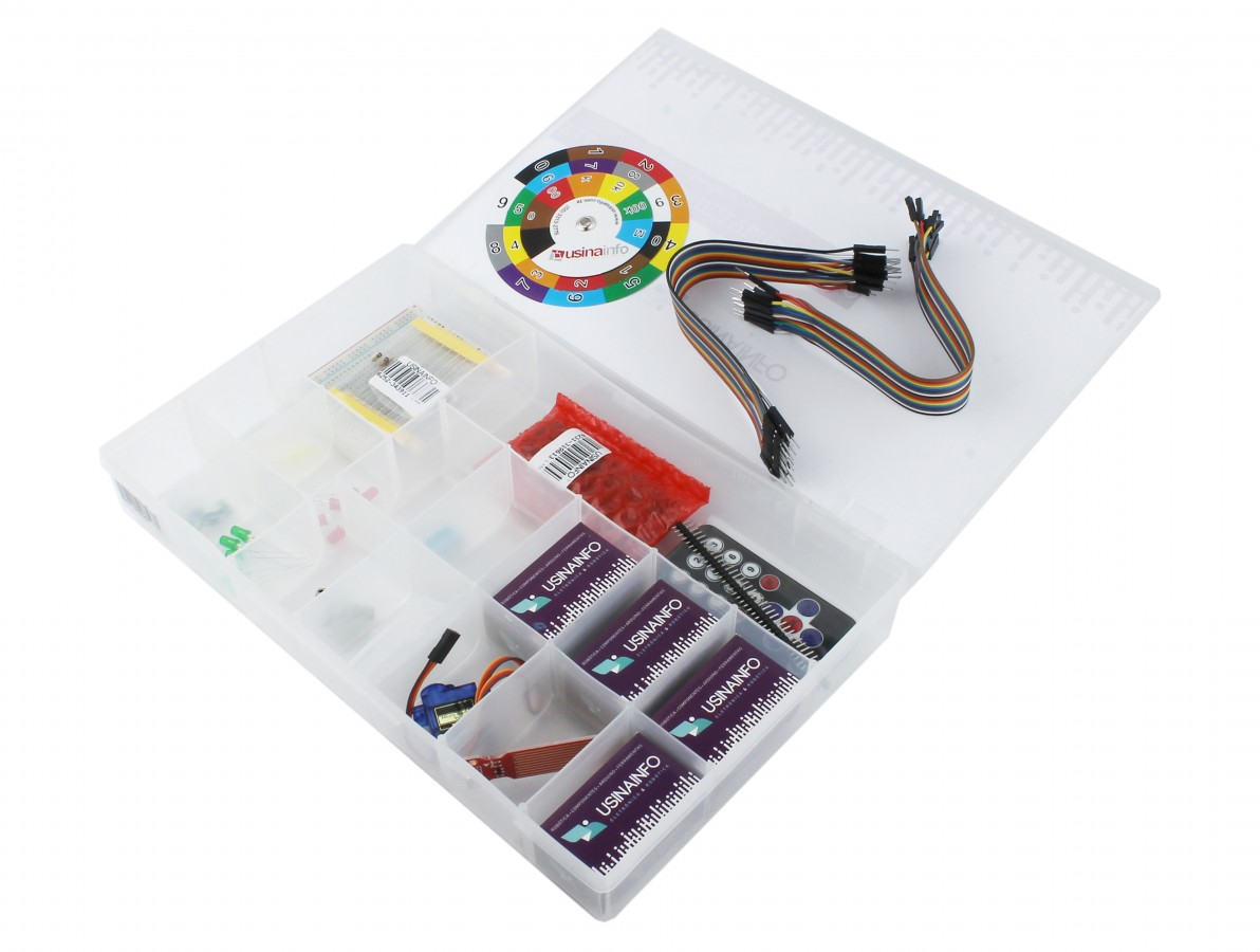 Kit Arduino Universitário - UN10