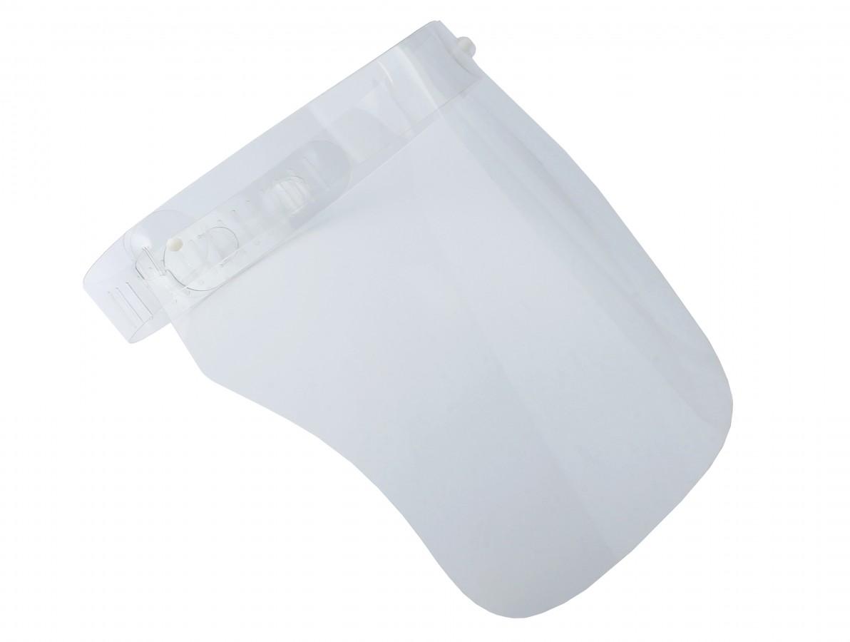 Máscara de Proteção Facial Faceshield Higienizável - Kit com 10 Unidades
