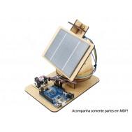 Estrutura em MDF para Rastreador Solar Arduino