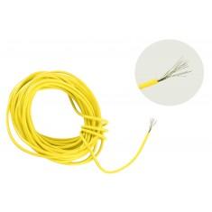 Cabo Flexível TiaFlex 5m Fio 0,50mm² - Amarelo