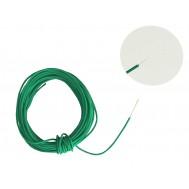 Cabo Flexível TiaFlex 5m Fio 0,14mm² - Verde