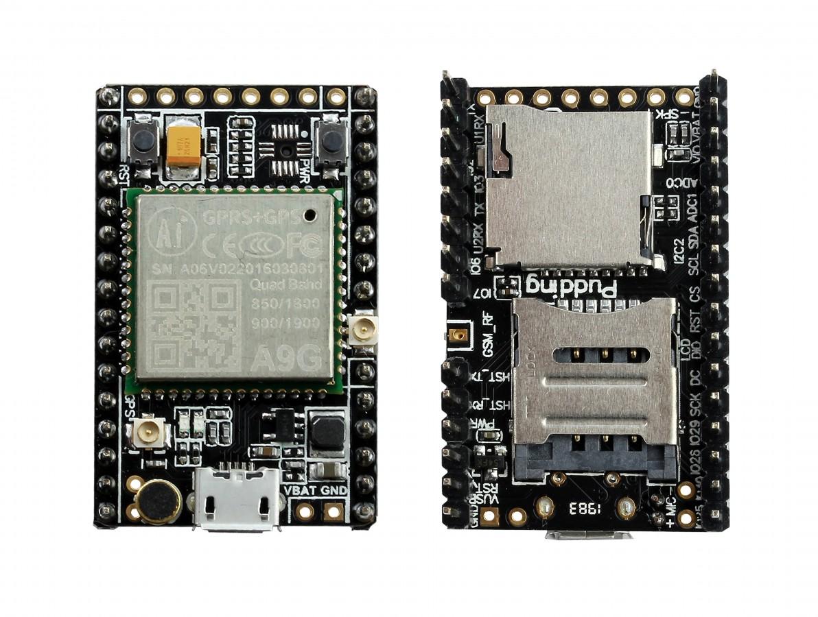 Ai Thinker A9G GPRS GSM GPS Pudding - Placa de Desenvolvimento IoT