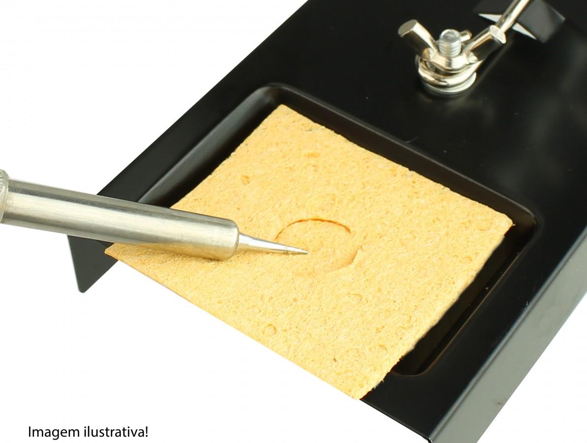 Esponja Vegetal para Ferro de Solda - Quadrada