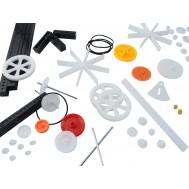 Kit de Engrenagens para Robótica Diy 120 Peças