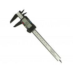 Paquímetro Digital 150mm / 6'' em Fibra de Carbono - FC150