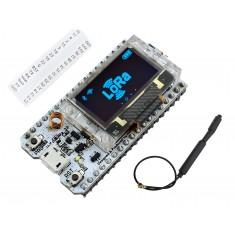 ESP32 LoRa WiFi SX1276 868/915MHZ de Longo Alcance com Display OLED e Bluetooth