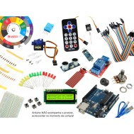 Kit para Arduino Universitário Parland UN10 + Guia de Projetos