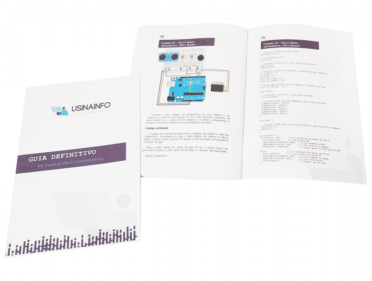 Kit Arduino Universitário - UN10