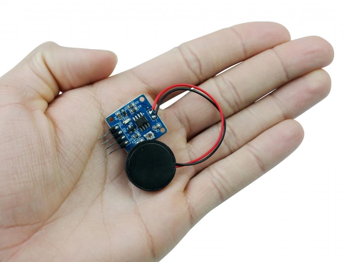 Sensor de Vibração e Toque Piezoelétrico 20mm Analógico Digital