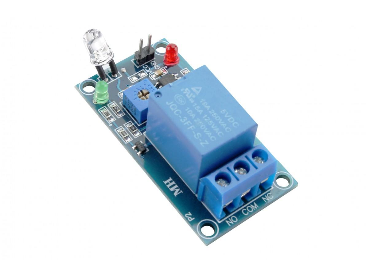 Sensor de Luz LDR com Relé 5V 10A