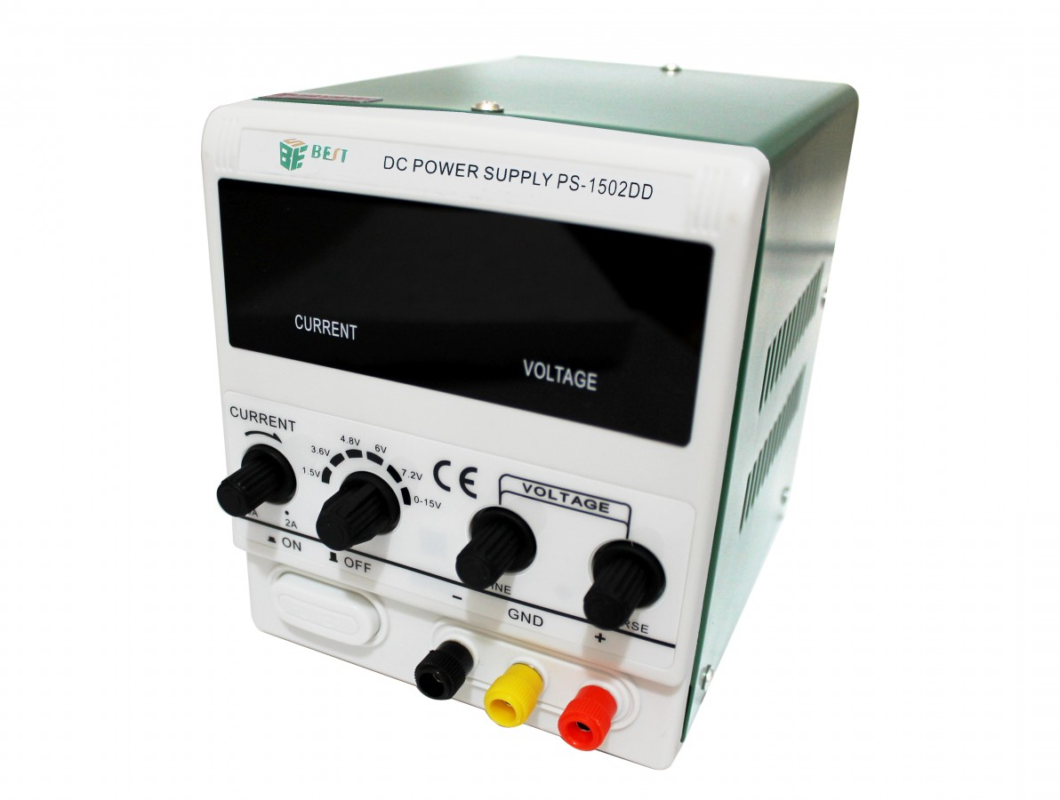 Fonte de Alimentação Digital Regulável 15V 2A Verde - PS1502DD 220V