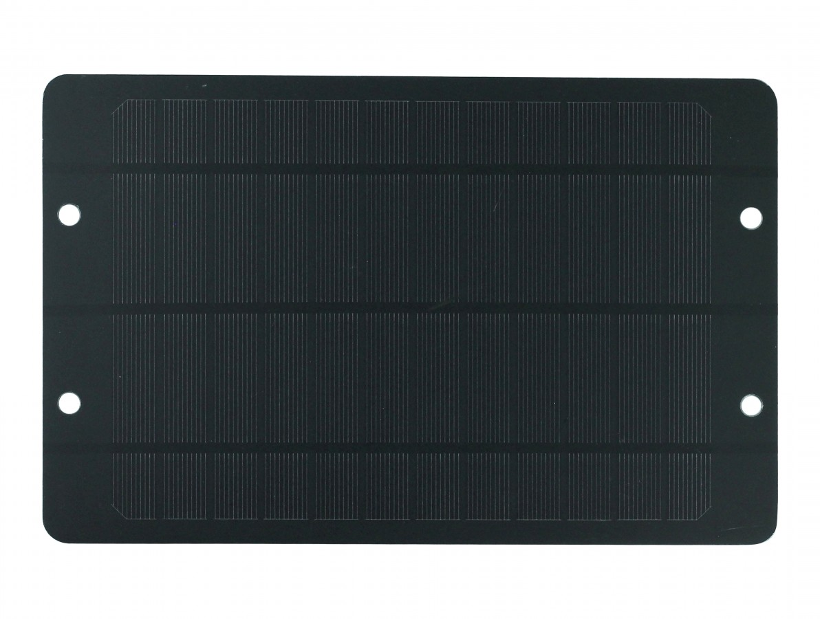 Mini Painel Solar Fotovoltaico 5V 1A 5W com Regulador - 175x270mm