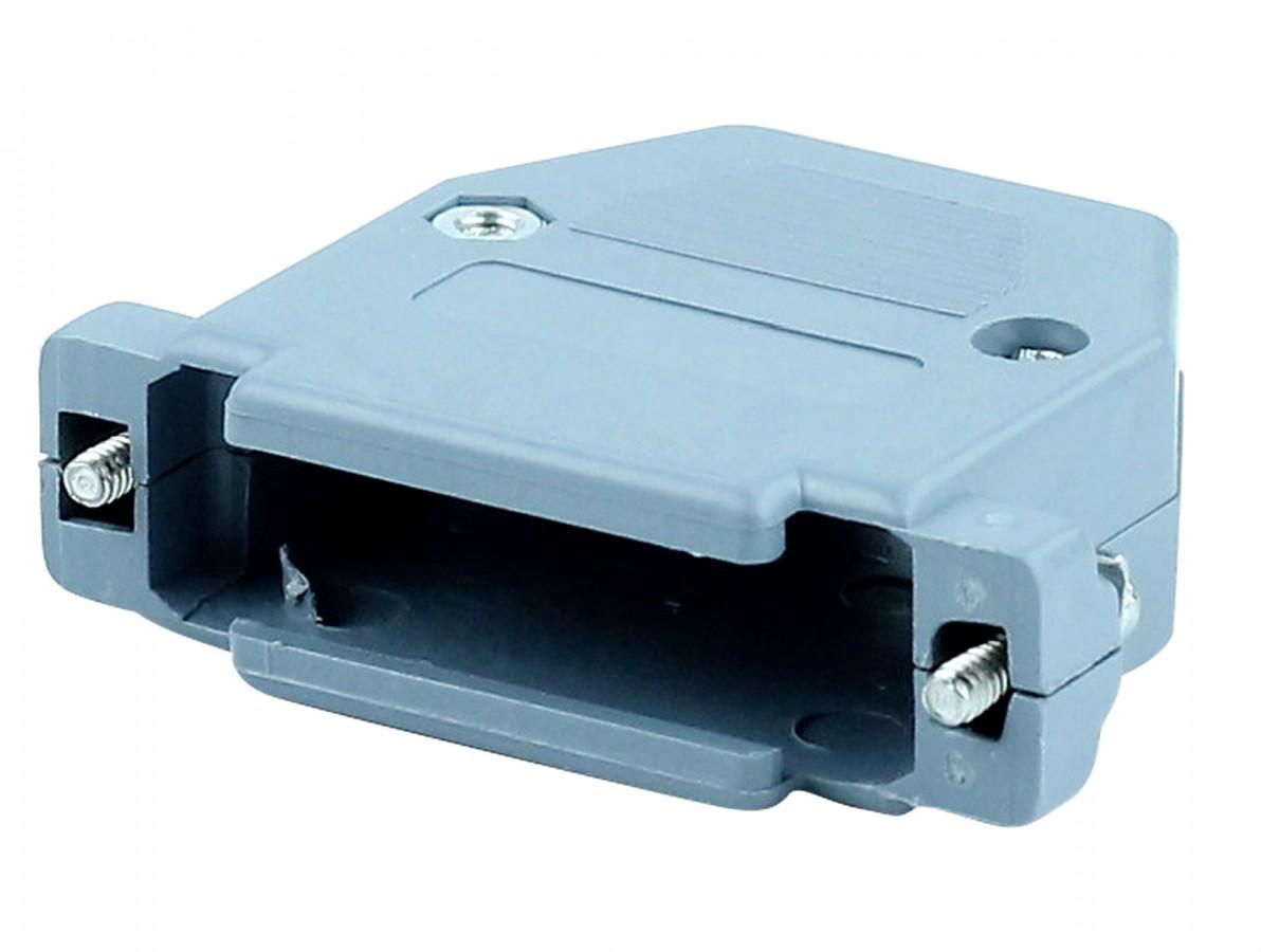 Capa DB25 RS232 Cinza com Kit Curto
