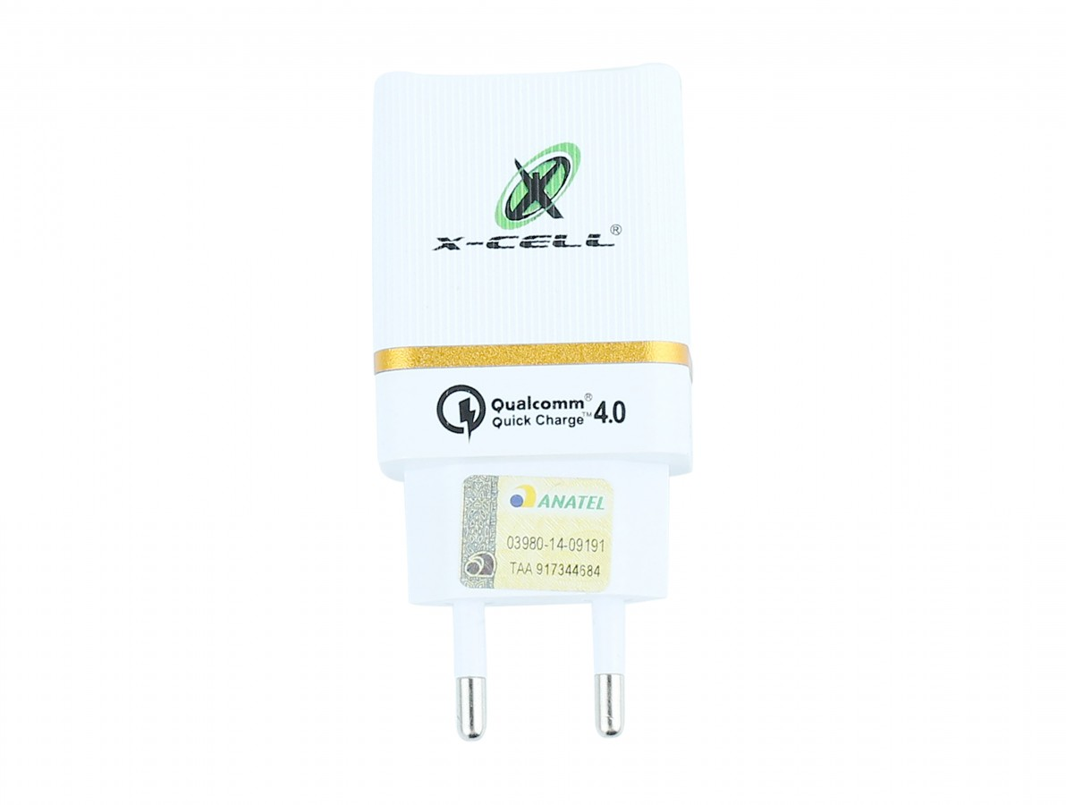 Fonte Chaveada 5V 4A (2 x 2A) USB 3.0 Dupla para Arduino, ESP32 / Carregador Turbo Universal QC4.0