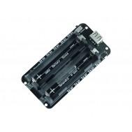 Shield V3 Carregador de Bateria 18650 2X com USB, Saída 5V / 3V e Proteção de Sobrecarga