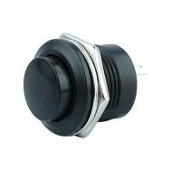 Pulsador Push Button NA / Chave Botão R13-507 6A Preto