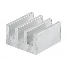 Dissipador de Calor em Alumínio 15x15x9mm