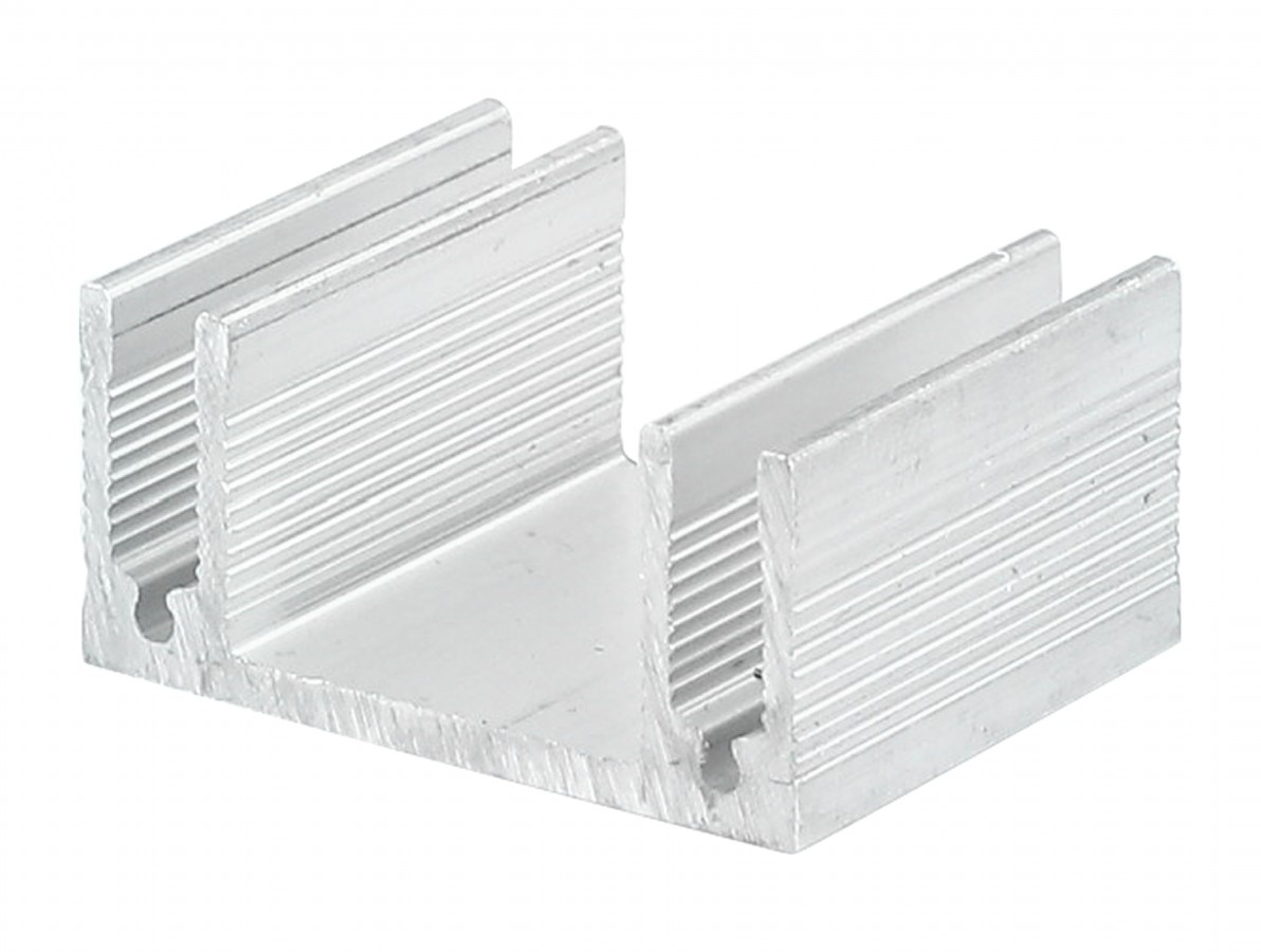 Dissipador de Calor em Alumínio 38x30x18mm