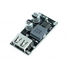 Módulo Carregador QC3.0 QC2.0 1 Canal USB