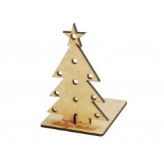 Estrutura em MDF para Árvore de Natal MDF Arbor