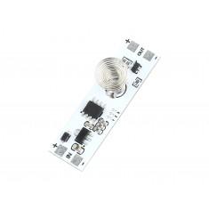 Sensor de Toque Capacitivo com Mola para Controle Luminoso