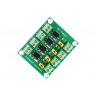 Isolador Óptico PC817 4 Canais 3.6-24V