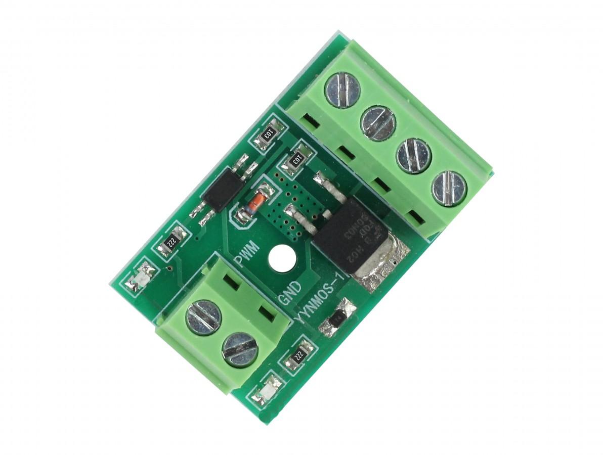 Módulo Driver YYNMOS-1 com Isolador Óptico 1 Canal