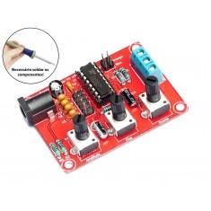 Gerador de Funções XR2206 DIY 1Hz a 1Mhz