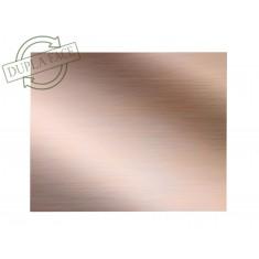 Placa de Fibra de Vidro Cobreada Dupla Face 20x25cm